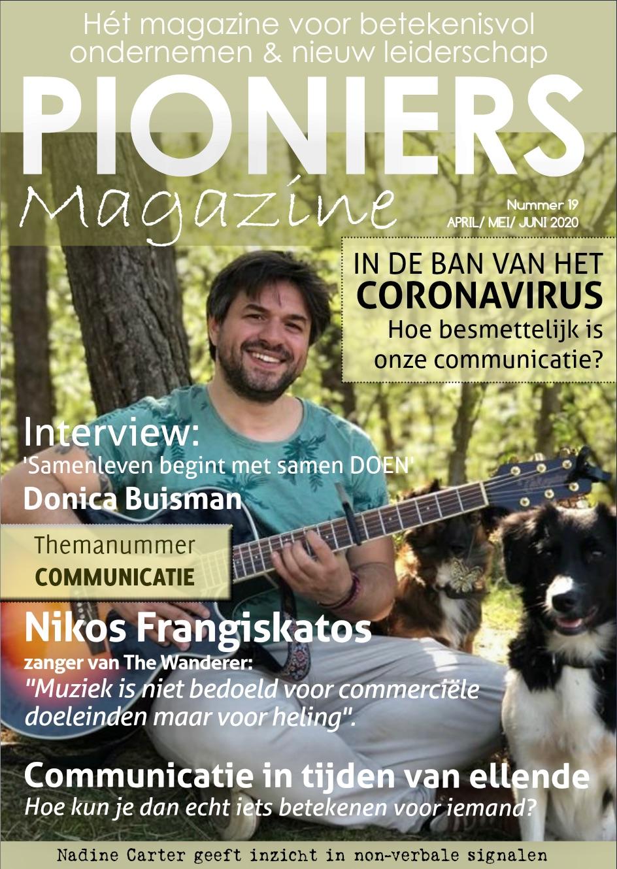 Pioniers Magazine cover